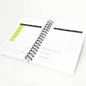 Harjoituspäiväkirjan viikkonäkymä
